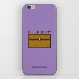 PAUSE – Check out my Chest iPhone Skin