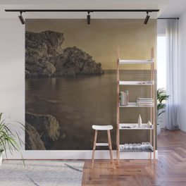 Serenity Sea ..... Hand Painted Photograph Wall Mural