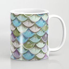 Fish scales | blue'n green Coffee Mug