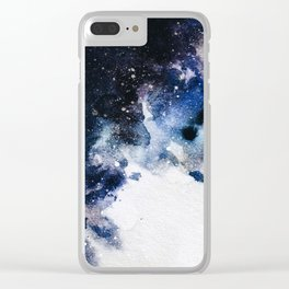 Between airplanes Clear iPhone Case