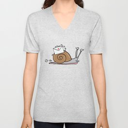 Snail Mail Unisex V-Neck