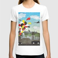 chile T-shirts featuring Centro de Chile by i am nito