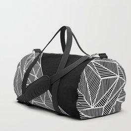B Rays Geo BW Duffle Bag