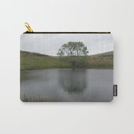 Irish Tree by Lake Carry-All Pouch