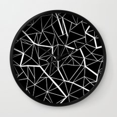 Ab Outline Mod Wall Clock