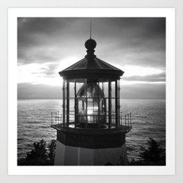 Cape Meares Lighthouse | Oregon Coast Art Print