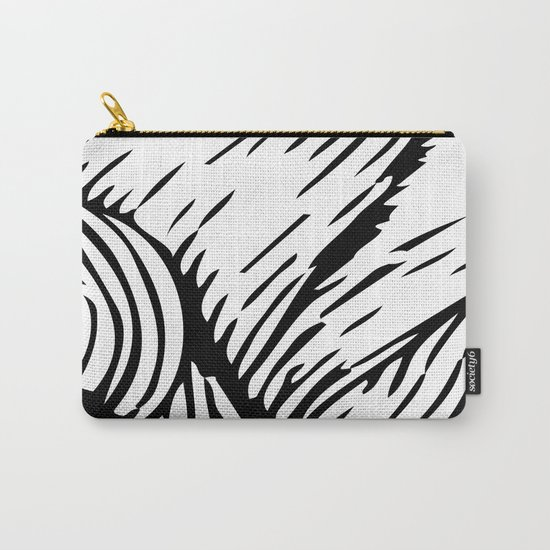 woodcut Carry-All Pouch