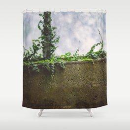 wall flower Shower Curtain