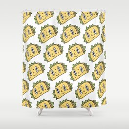 Taco Buddy Shower Curtain