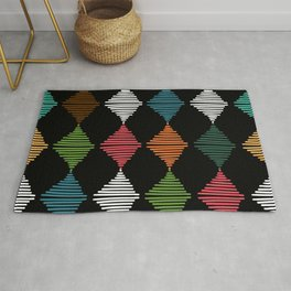 Weaving triangles Rug