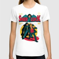 comic T-shirts featuring Sherlock Comic by harebrained