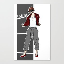 So Fly Red Canvas Print