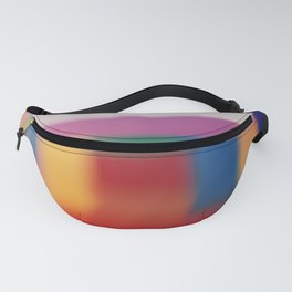 Colored blur background 3 Fanny Pack