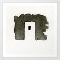 greece Art Prints featuring Greece by Paul Stickland for StrangeStore