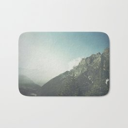 Valley Morning - Lombardy- Italy Bath Mat