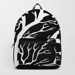 Tree on B&W Backpack