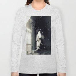 Construction B&W Long Sleeve T-shirt