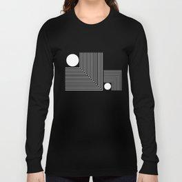Lines & Circles Long Sleeve T-shirt