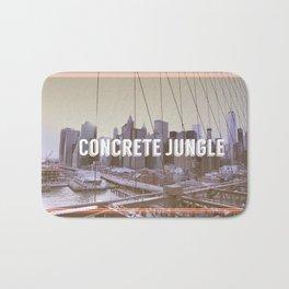 Concrete Jungle Bath Mat