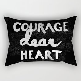 Courage Dear Heart Rectangular Pillow