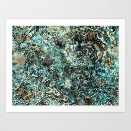 Burnt Out Blue Dwarf Art Print
