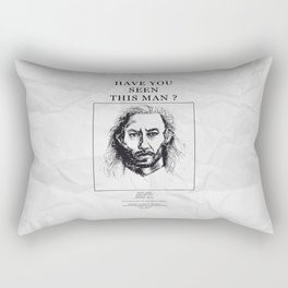 Twin Peaks Bob Rectangular Pillow