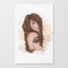 Bonny Lass Canvas Print
