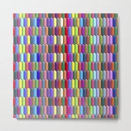 Colorful jewels Metal Print