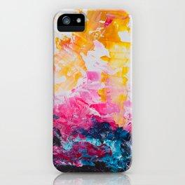 Morning has broken iPhone Case