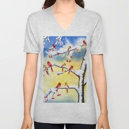 Winter Song 2 Unisex V-Neck