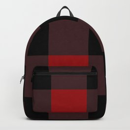 Red Buffalo Plaid Backpack