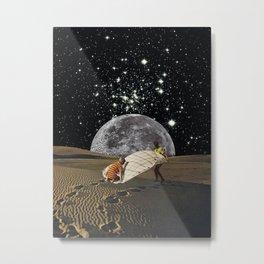 Stars and Desert Metal Print