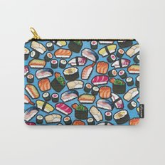 Sushi Blue Carry-All Pouch