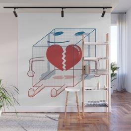 Little Box of Broken Heart Wall Mural