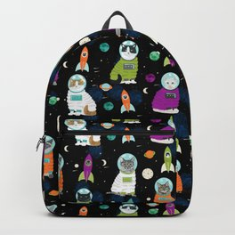 Space Cats - cats in space cute cats cat art cat print Backpack