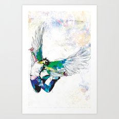 This is Letting Go Art Print