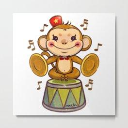 monkey box music Metal Print