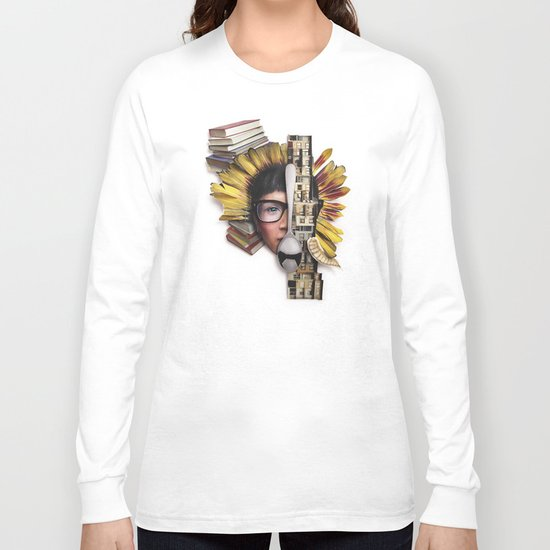 Timber | Collage Long Sleeve T-shirt