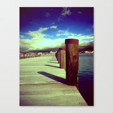 What's Up Dock?  Canvas Print