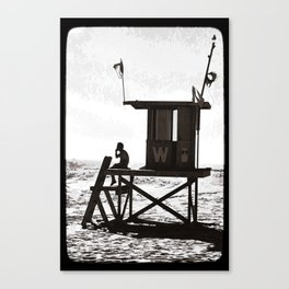 W is for the Wedge Canvas Print