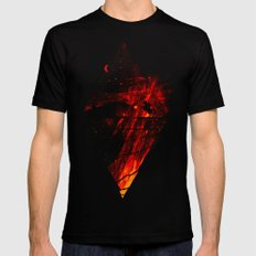 The Firestarter Mens Fitted Tee SMALL Black