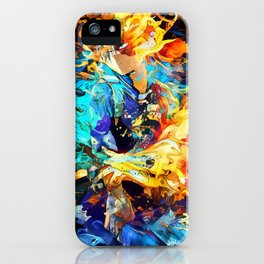 Hot and cold body iPhone Case
