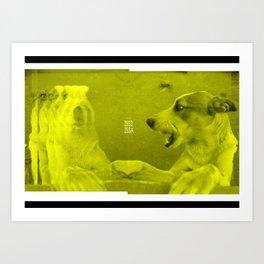 Boom Street Dogs Art Print