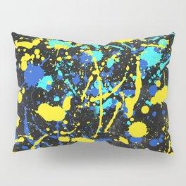 Abstract Creative Splashes Pillow Sham