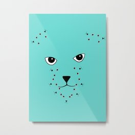 JD (John Doe) Cat Metal Print