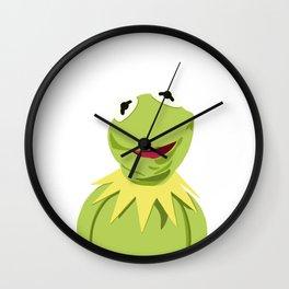 Kermit - The Optimistic Frog Wall Clock