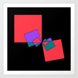 experiments on Lindenmayer Systems -3- Art Print