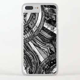 BW sunkissed Clear iPhone Case