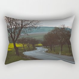 Along a rural road - Landscape and Nature Photography Rectangular Pillow
