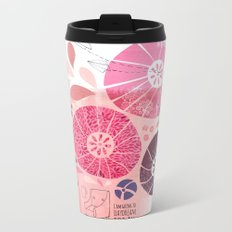I Am Going To Daydream Today Metal Travel Mug